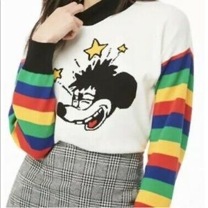 Dizzy Mickey Mouse 90th Anniversary Sweater